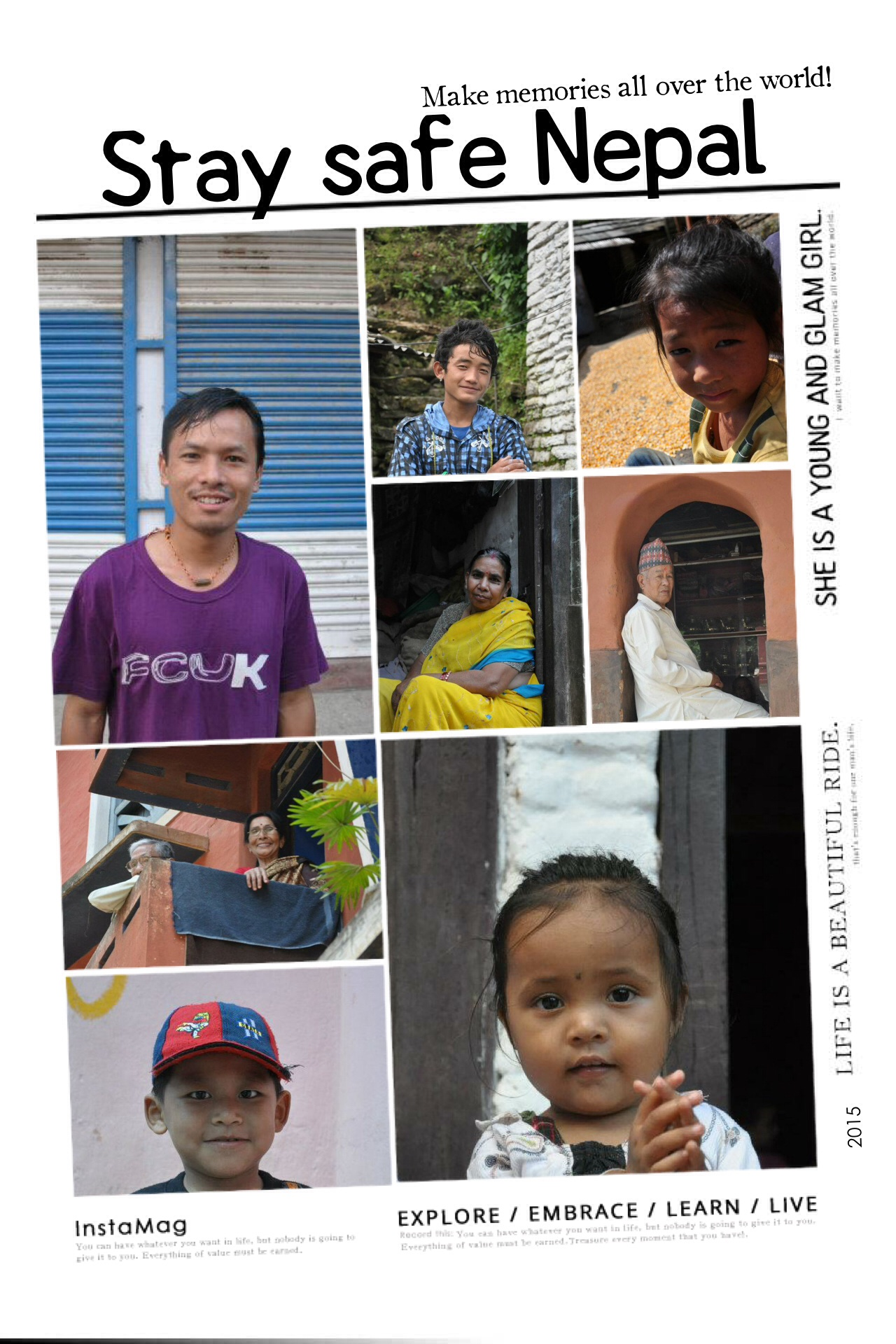 Surya Lama, marked safe. Locals we met during the trip, I hope that you're safe and sound.