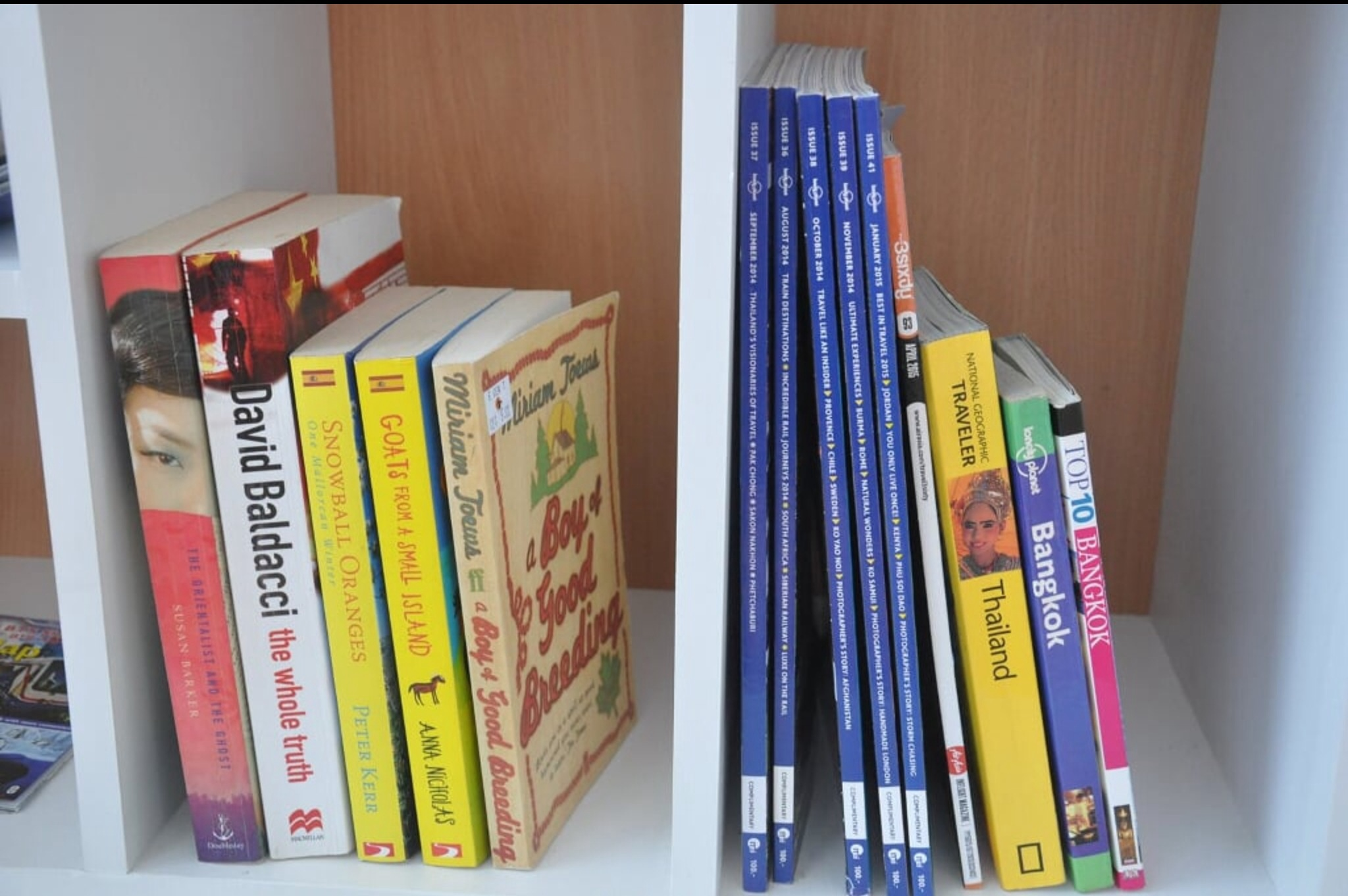 Of course there are Lonely Planet and travel books provided ... abuden?