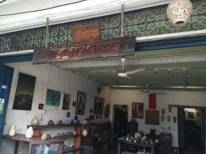 Front of the shop