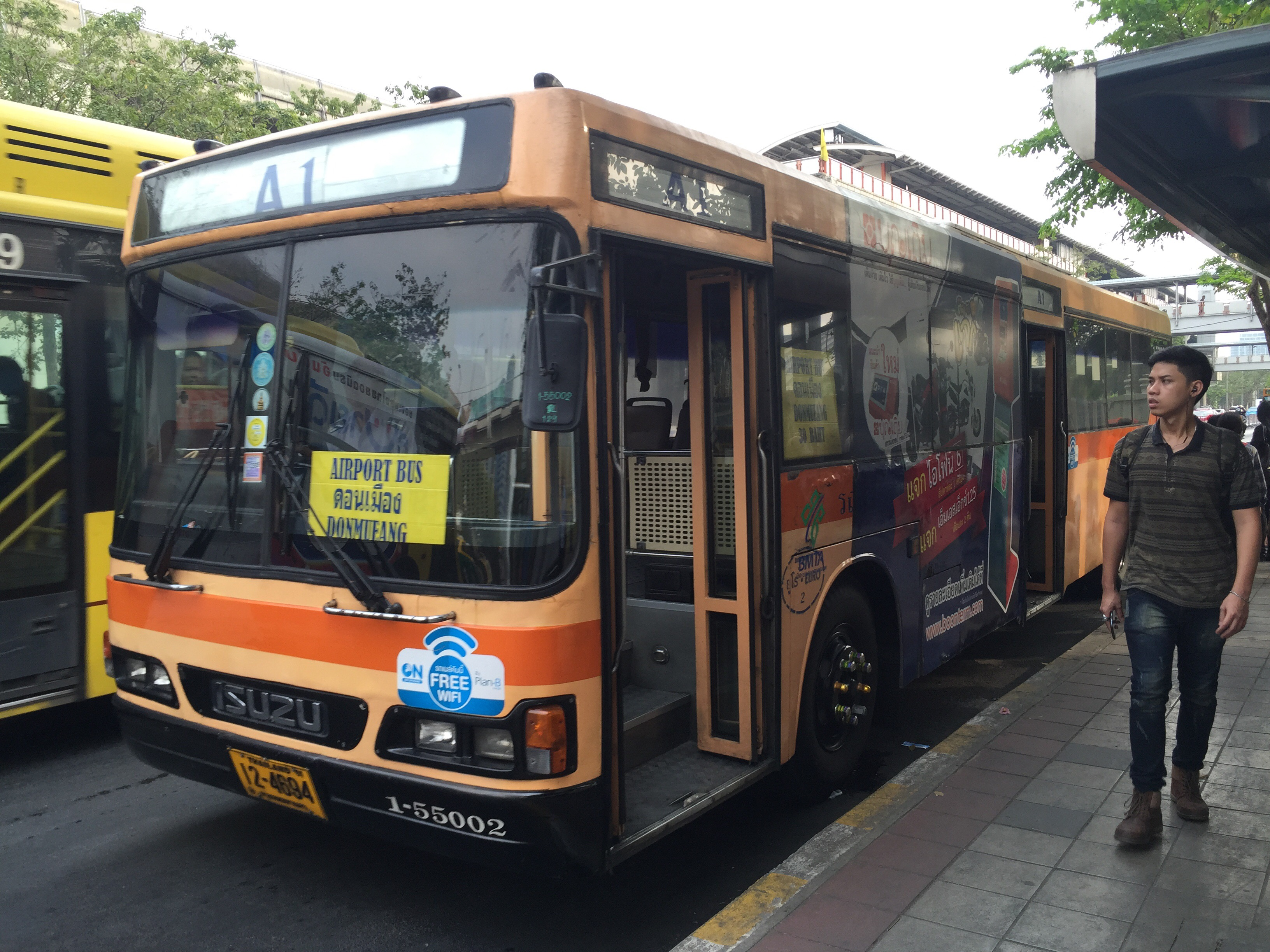 how to get to don muang airport
