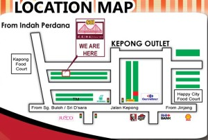 Seng Huat Klang BKT Location Map at Kepong