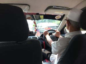 My driver home