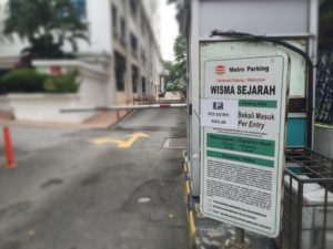 RM 5 flat rate parking