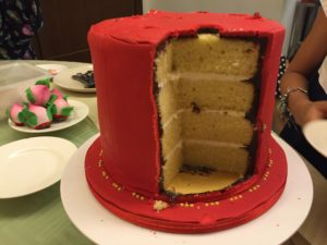4 layers of cake
