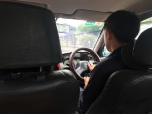 My driver for the day