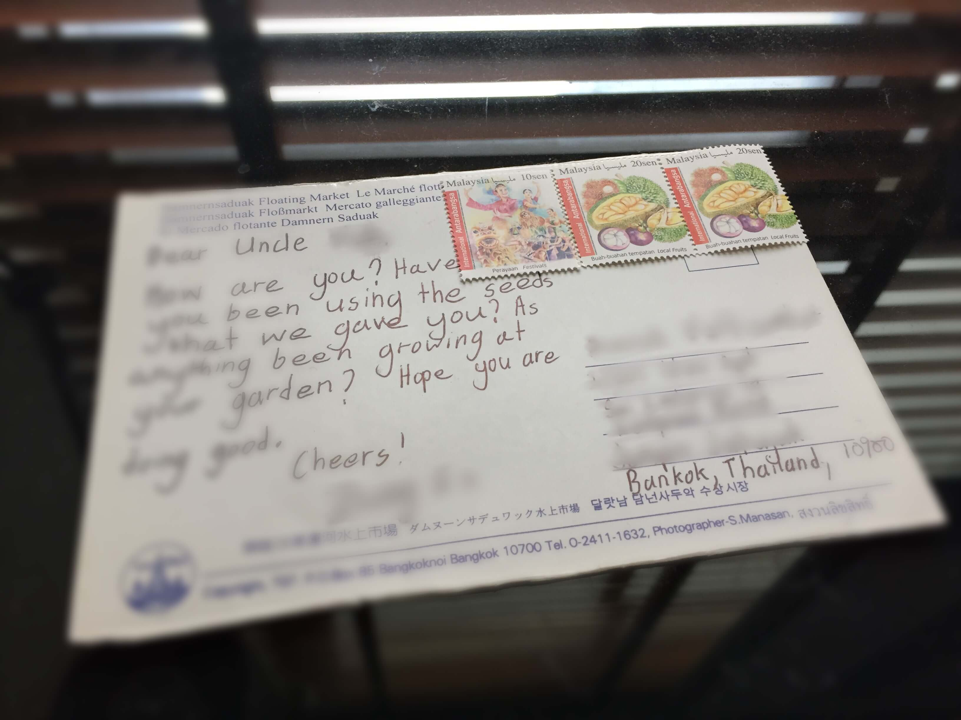 Sending A Mail Overseas From Malaysia